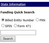 E-Rate Central Funding History Quick Search
