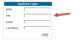 EPC Applicant Login