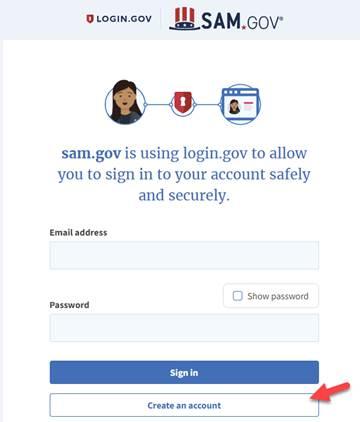 SAM.gov sig-in